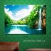 Картина на холсте (пигментная печать) Райское место