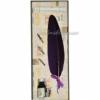 Набор для каллиграфии 7229-22 фиолетовое перо