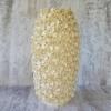Керамическая ваза Гранди Флора сливочная 38 см