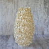Керамическая ваза Гранди Флора сливочная 32 см
