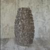 Керамическая ваза Гранди Флора серая 32 см