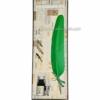 Набор для каллиграфии 7229-22 зеленое перо