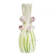 Ваза керамическая напольная Тюльпаны 48 см