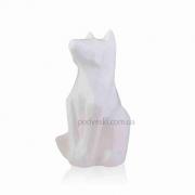 Статуэтка керамическая Собака 2508-16 белая