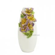 Ваза керамическая декоративная Ирисы 32 см