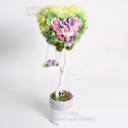 Дерево счастья, топиарий With Love
