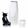 Набор керамики (ваза, статуэтка лиса, подсвечник) 2503-05-06