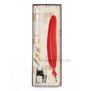 Набор для каллиграфии LaKalligrafica 7229-22 (красное перо)