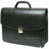 Портфель мужской Jurom 0-36-111 черный кожзам