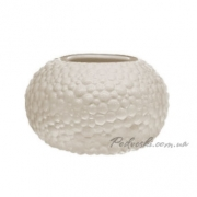 Керамическая бежевая ваза Этна 0505S