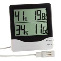 Термометр-гигрометр TFA 305013 с датчиком