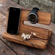 Деревянная подставка для телефона EcoWalNut Унисекс