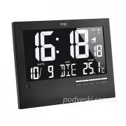 Часы настенные TFA 604508 цифровые с подсветкой