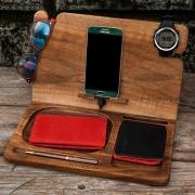 Деревянная подставка для телефона EcoWalNut Ежедневник