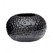 Керамическая черная ваза Этна 0505B