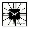 Годинник настінний металевий 35х35 см Glozis New York