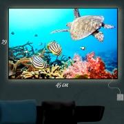 Картина-светильник Подводный мир 2