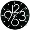 Годинник настінний металевий 35 см Glozis Dublin чорний
