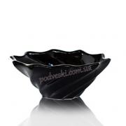 Декор-фруктовница черная Eterna 0010B