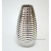 Ваза керамическая Шантили платина 36 см