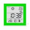 Термометр-гигрометр электронный T-06 green