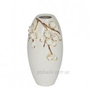 Ваза керамическая Сакура барокко 22 см