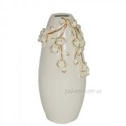 Ваза керамическая Сакура барокко 30 см