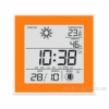 Термометр-гигрометр электронный T-06 orange