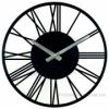 Часы настенные Rome Black 35 см