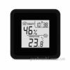 Термометр-гигрометр электронный T-07 black