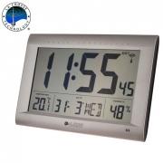 Электронные настенные часы-термогигрометр La Crosse WS8009-SIL