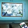 Картина с LED-подсветкой В цветущем саду