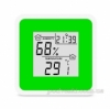 Термометр-гигрометр электронный T-07 green