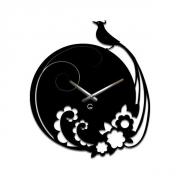 Настенные часы акриловые Павлин