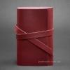 Блокнот кожаный, софт-бук 1.0 Виноград