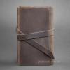 Блокнот кожаный, софт-бук 1.0 Орех