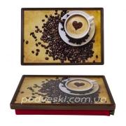 Поднос на подушке Coffee with Love
