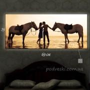 Картина с подсветкой Влюбленные