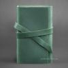 Блокнот кожаный, софт-бук 1.0 Изумруд