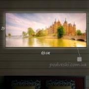 Картина с подсветкой Шверинский замок