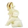 Статуэтка керамическая Слон сидит