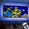 Картина с диодной подсветкой Подводный мир
