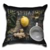 Подушка декоративная 40х40 см Имбирь-лимон