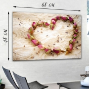 Картина на холсте Сердце розами