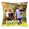 Подушка с фотографией Family 40х40 см