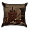Подушка декоративная 40х40 см Кофе-2