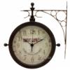 Настенные часы с термометром TFA Nostalgia 603011