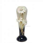 Керамическая ваза Ромашки 30 см