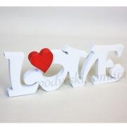 Надпись декоративная LOVE