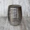 Ваза керамическая Шантили платина 24 см